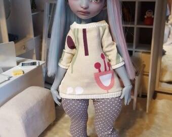 Poulpy/Bo Lillycat sweatshirt