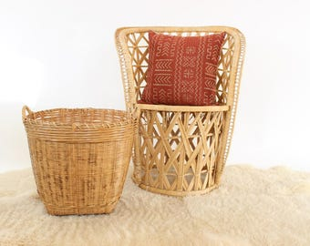 Basket Planter Pot Extra Large Boho Planter Indoor Planter Outdoor Planter