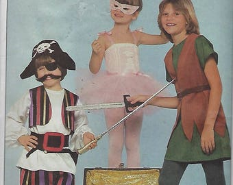Butterick 4010  Halloween Costumes 3 Sizes Available  UNCUT