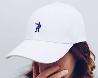 Hero of Barcelona /Soccer/football/Embroidered Dad Cap / Dad hat / Baseball Cap / Baseball Hat / Dad cap/Tumblr Hat/Embroider Hat/Cap/Hat