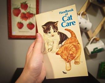 Vintage 1979 Purina Handbook of Cat Care