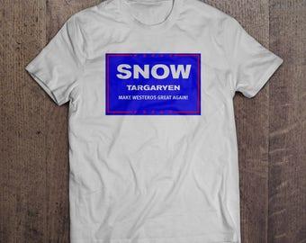 Snow presidential ticket T-shirt