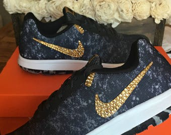 Womens Bling Nike Flex Experience RN 6 ~Custom Shoes~Crystahhled~Nike  Swarovski~ 4f7a59250e