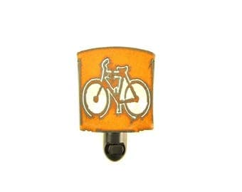 Bicycle Rusty Metal Night Light