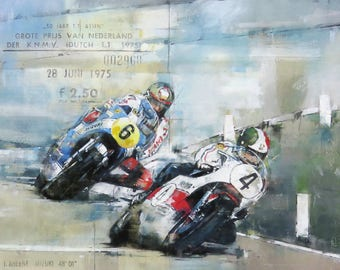 Victory at Assen: Limited Edition Print