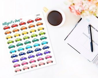 Car Stickers - Planner Stickers