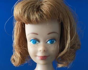 Vintage Barbie Midge Doll Straight Legs W/ Freckles