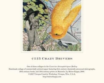Canaries Atmosphériques suite of 3 prints