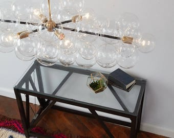 "The Long Branch Bubble Chandelier (48"" long)"