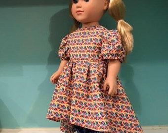 "American Girl Dress Fits most 18"" Dolls"