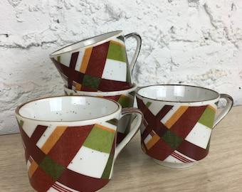 """Ensco """"Suntrails"""" Teacups"""
