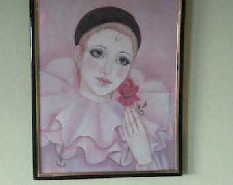 Romantic Judy Mastrangelo mime print