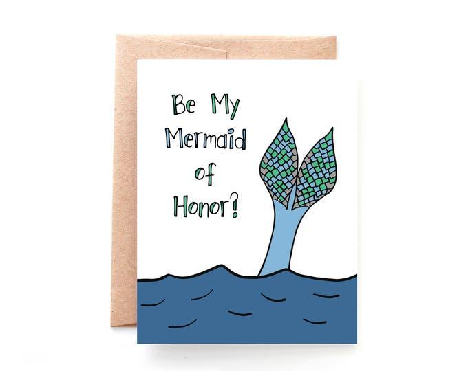 Be My Mermaid of Honor