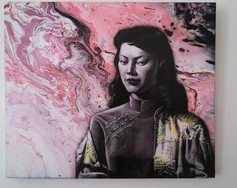 Gorgeous. Miss Wong Tretchiko Canvas