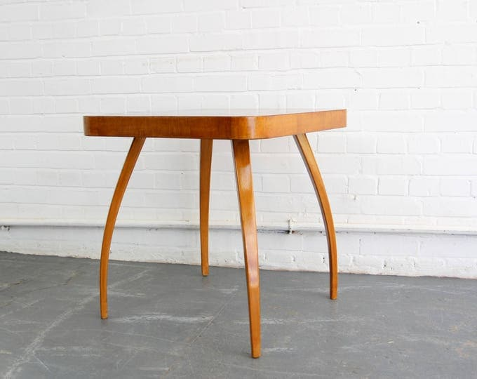 H259 Spider Table By Jindrich Halabala Circa 1940s