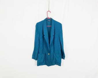 The Sporty Emerald Rayon Jacket