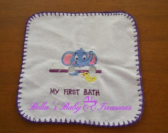 Baby's First Wash Cloth