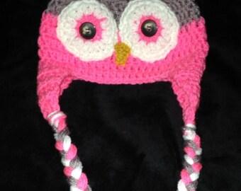 Infant Owl Beanie