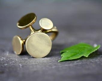 Boho rings, geometric rings, brass, tribal, hippie rings, gold rings, antique brass rings, bohemian, tattoo rings, midi rings, adjustable,14