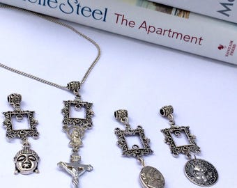 Charm Collection Antique Silver