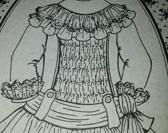 Doll Dress Pattern, BHD 520
