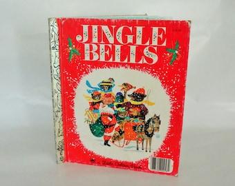 JINGLE BELLS Little Golden Book 1964