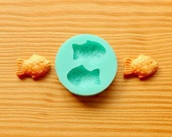 Mini Fish Taiyaki Silicone Mold