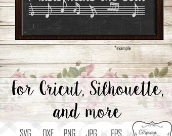 Quotes Music Simple Music Quote  Etsy