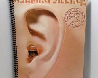 Manfred Mann Roaring Silence Album Cover Notebook Handmade Spiral Journal Blank Composition Book