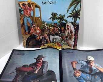 Village People Go West vinyl record and Poster 1979 EX