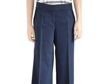 Vintage Pants, Blue Pants, 1990s Pants, Women's Pants, Spring Pants, Summer Pants, Dress Pants, Pants, Size 6, Gift For Her, Theory Pants