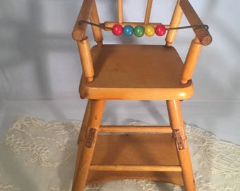 Vintage Doll Chair