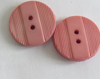 Cute button pink with small scratches