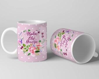Fresh Flowers From The Garden Sorority Gift | Alpha Chi Omega | Ollie + Ivy