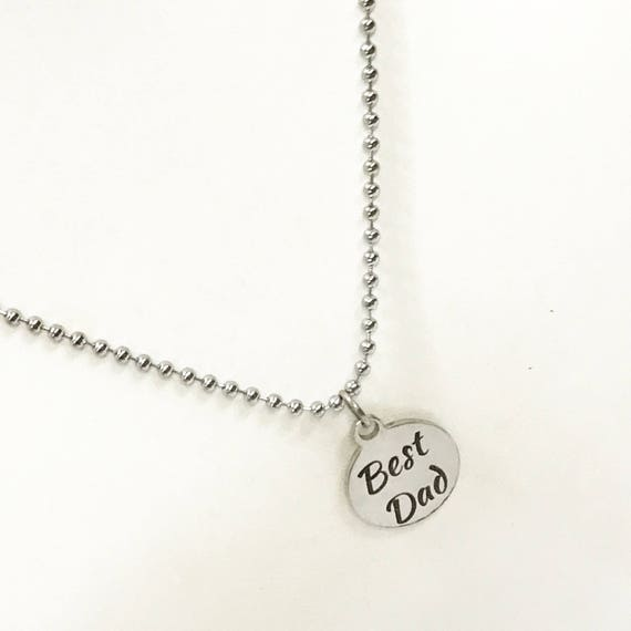 Dad Gift, Best Dad Necklace, Gift For Dad, Dad Jewelry, Dad Gift, Gift From Kids, Best Dad Gifts, Gift From Children