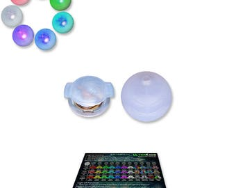 UltraPoi - UltraKnob LED Handle (Individual) - For Flow Poi Knob | Raves and Concerts