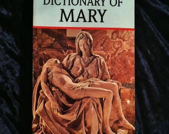 Dictionary Of Mary Vintage Book
