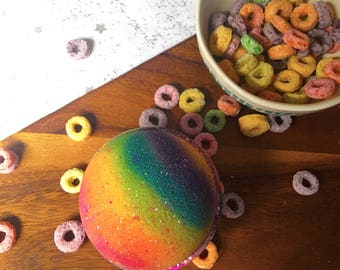 Fruit loops Bath Bombs - Vegan Bath Bomb Natural Bath Fizzy Stocking Stuffer Christmas Gifts