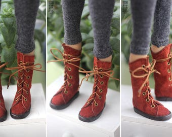 Pre Order: Momonita leather high boots (Momonita by Atelier Momoni)