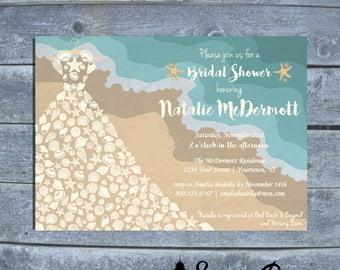 Beach bridal shower | Etsy