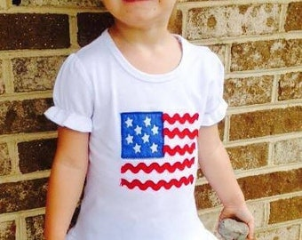 Flag Shirt- fourth of july shirt- patriotic shirt