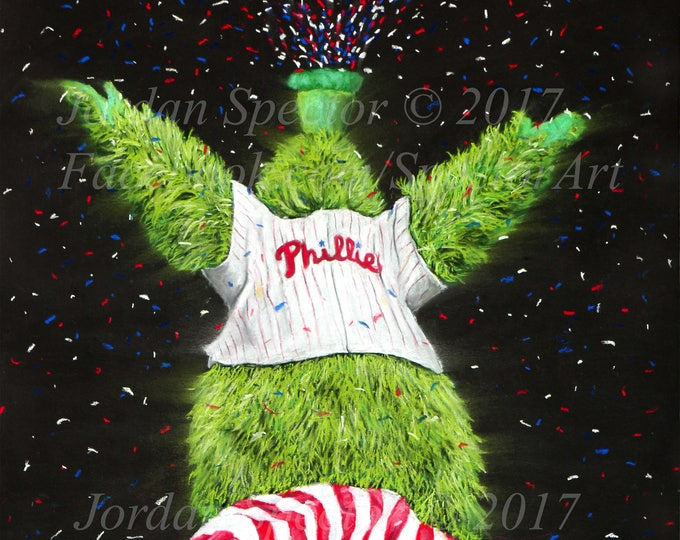 """Phanatic"" open edition art print"