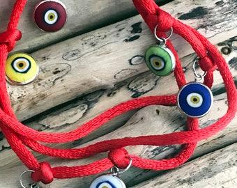 Evil Eye Bracelet ,Gift for her EVL029