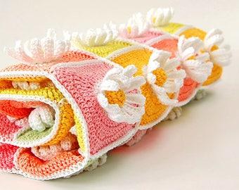 Baby Daisy Pattern/Baby crochet pattern/Baby daisy blanket/Daisy flower blanket/Blanket crochet baby/Baby blanket crochet/Crochet blankets/
