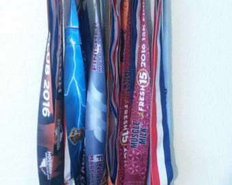 Never Give Up Marathon Medal Display Medal Rack Medal Holder Running Medal Hanger Race Medal Holder