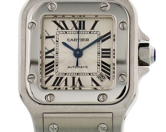 Ladies Cartier Santos Galbee Automatic 2423
