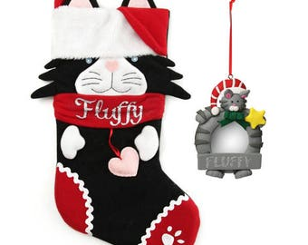 Fun Cat Stocking and Frame Pack
