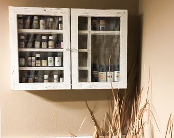 Bathroom Cabinet, Oil Shelf, Display, Essential Oil Shelf, Apothecary  Cabinet, Oil