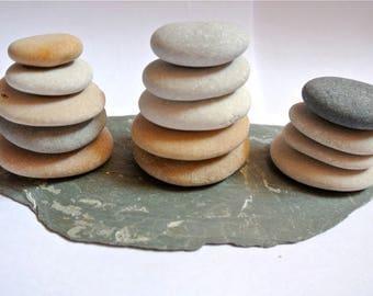 Beach Stone Sculptures, Zen Stones, Meditation Stones, Cairn, Balancing Stones, Beach Stones, Home Decor