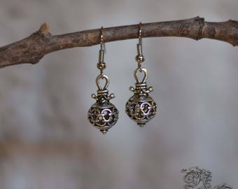 "Earrings ""The Secret"" - Medieval, celtic, viking"